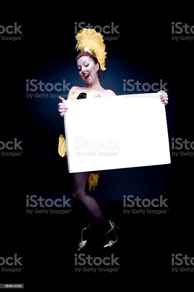 Cabaret Messenger stock photo