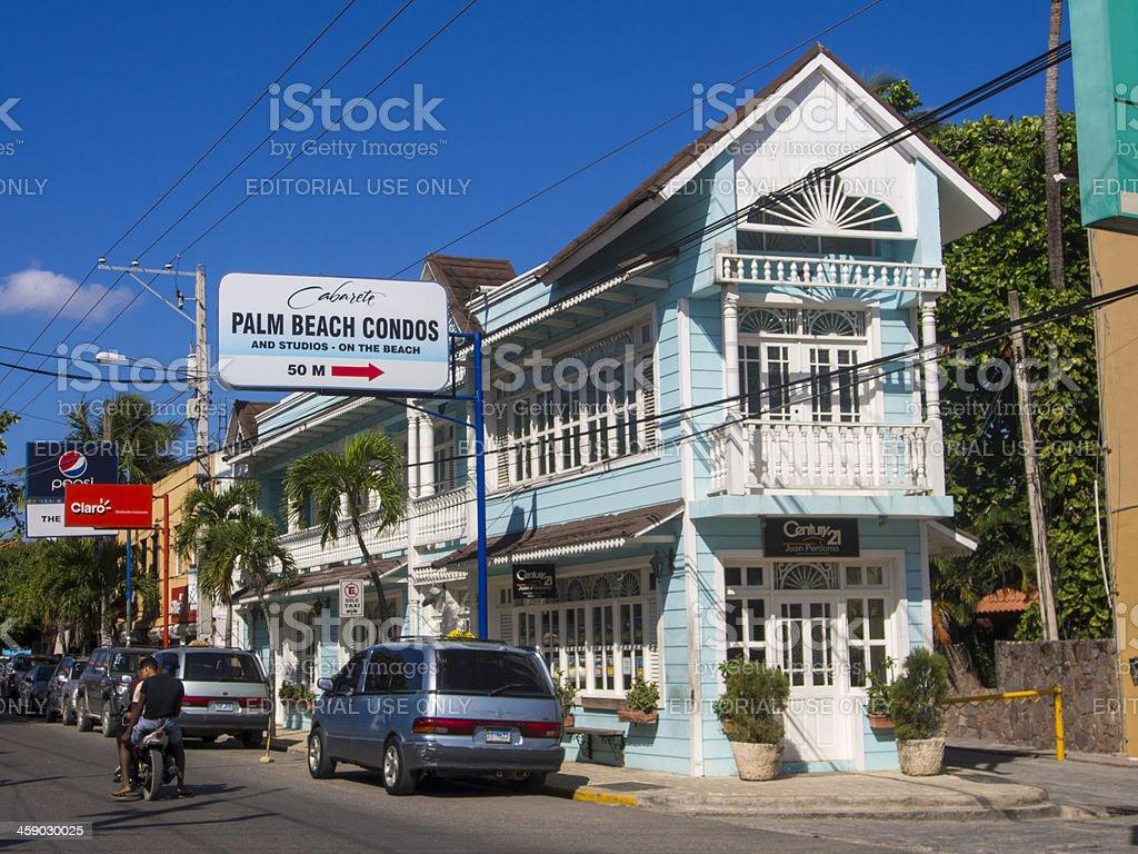 Cabarete, Dominican Republic royalty-free stock photo