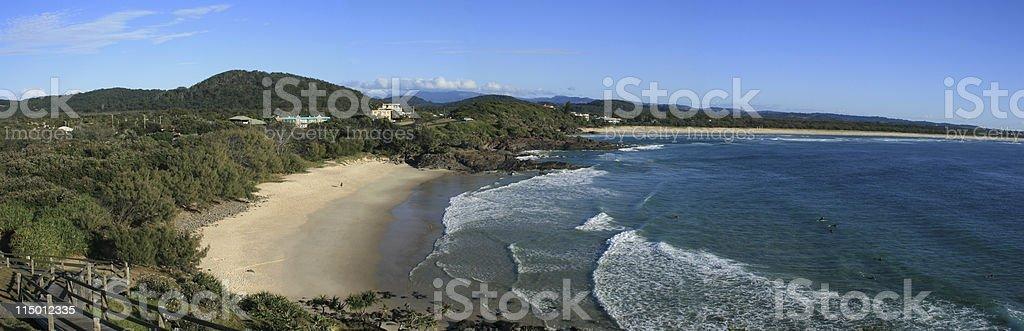 Cabarita Beach royalty-free stock photo
