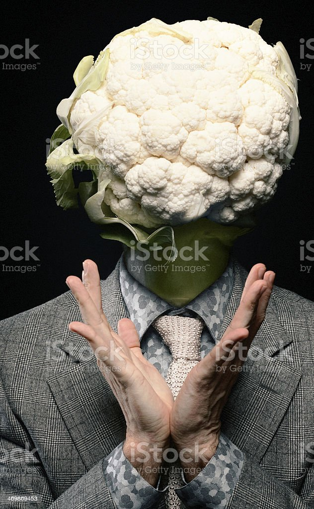 Cabbage head stock photo