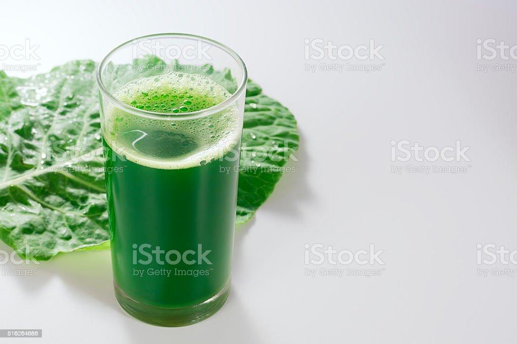Cabbage juice. stock photo