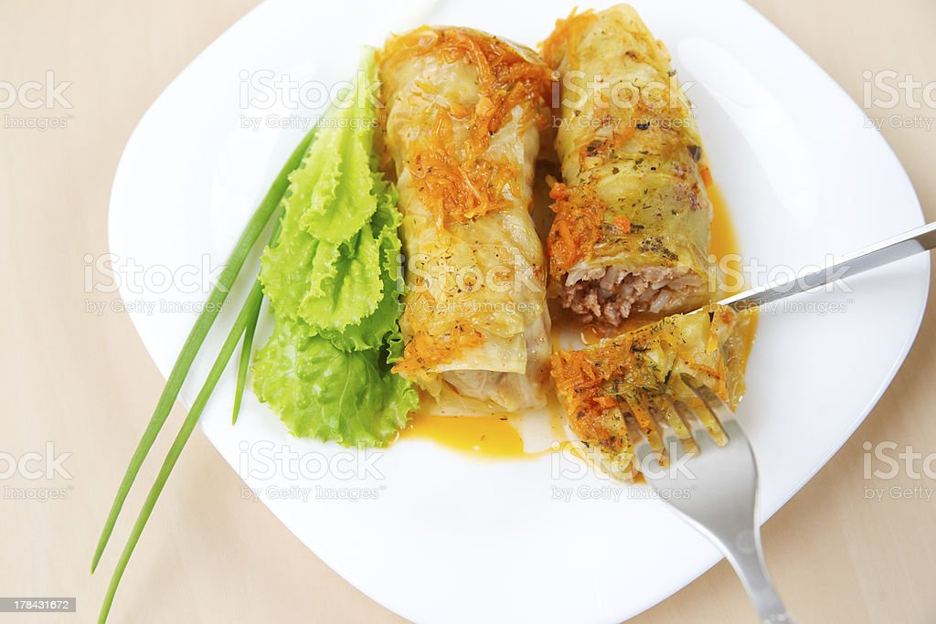 Cabbage Rolls royalty-free stock photo