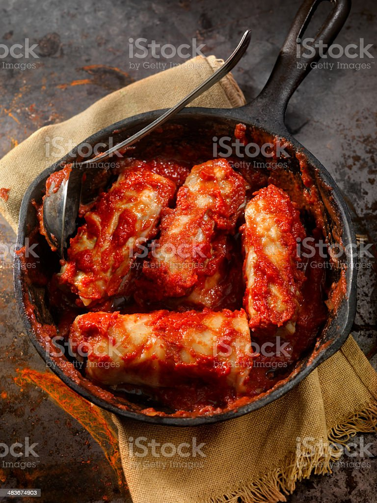 Cabbage Rolls stock photo