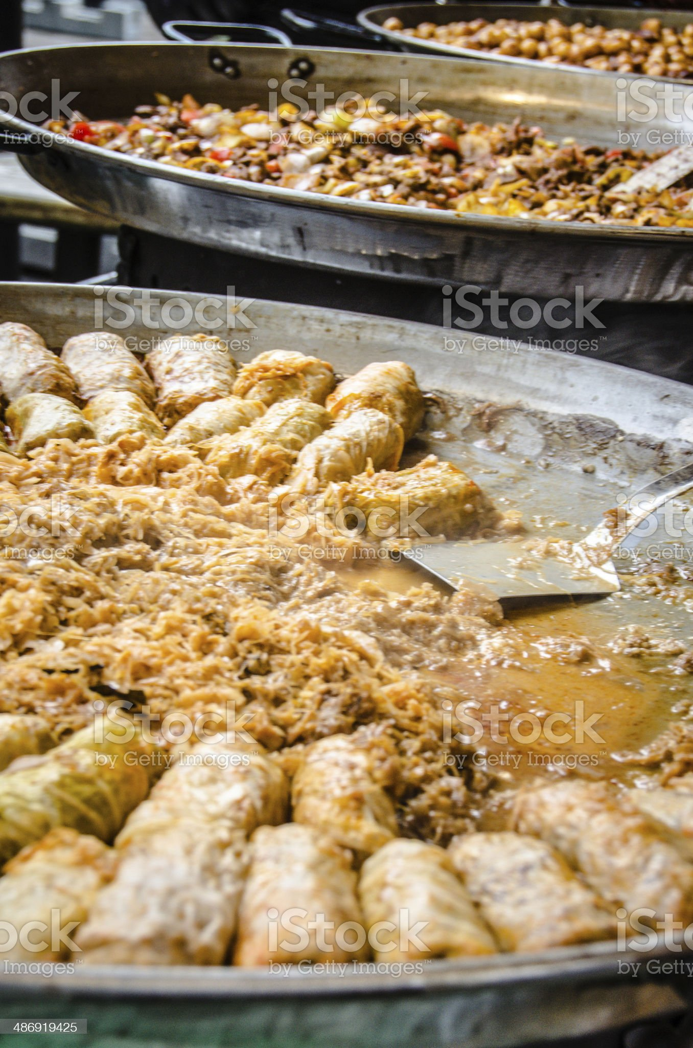 Cabbage Rolls (Pigs in Blanket) royalty-free stock photo