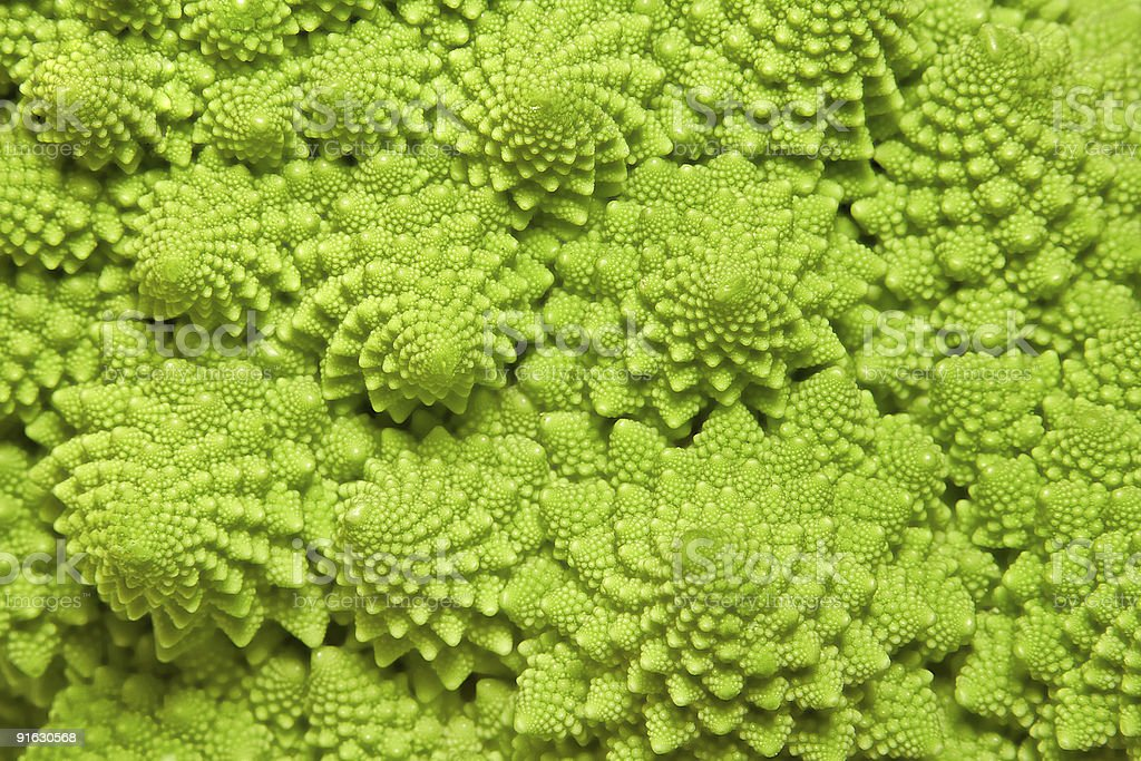 cabbage romanesco background royalty-free stock photo