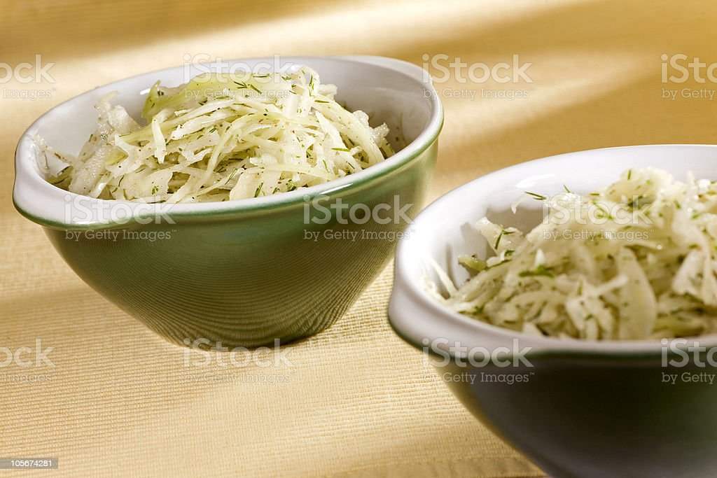 cabbage salad royalty-free stock photo