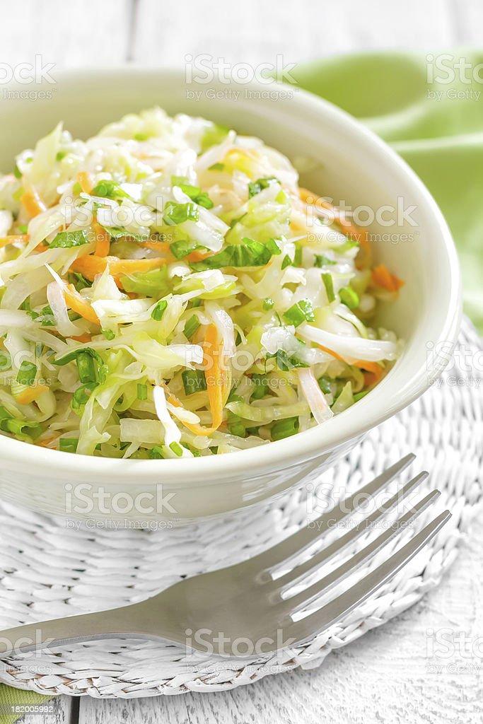 Cabbage salad royalty-free stock photo