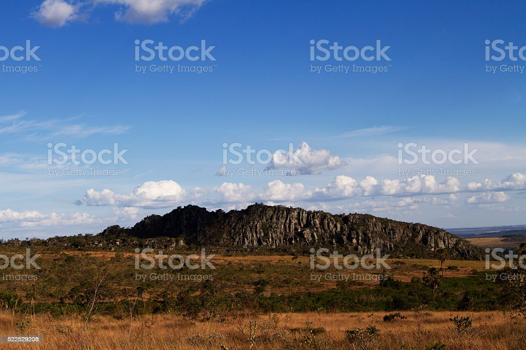Cabeludo´s Hill stock photo
