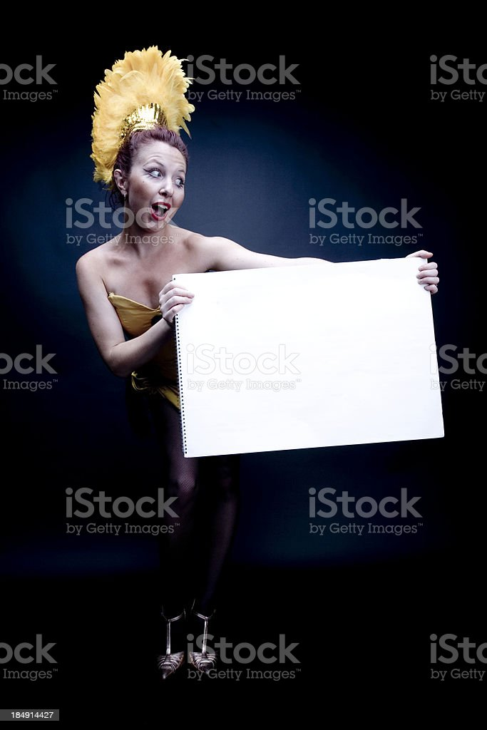 Caberet Messenger stock photo