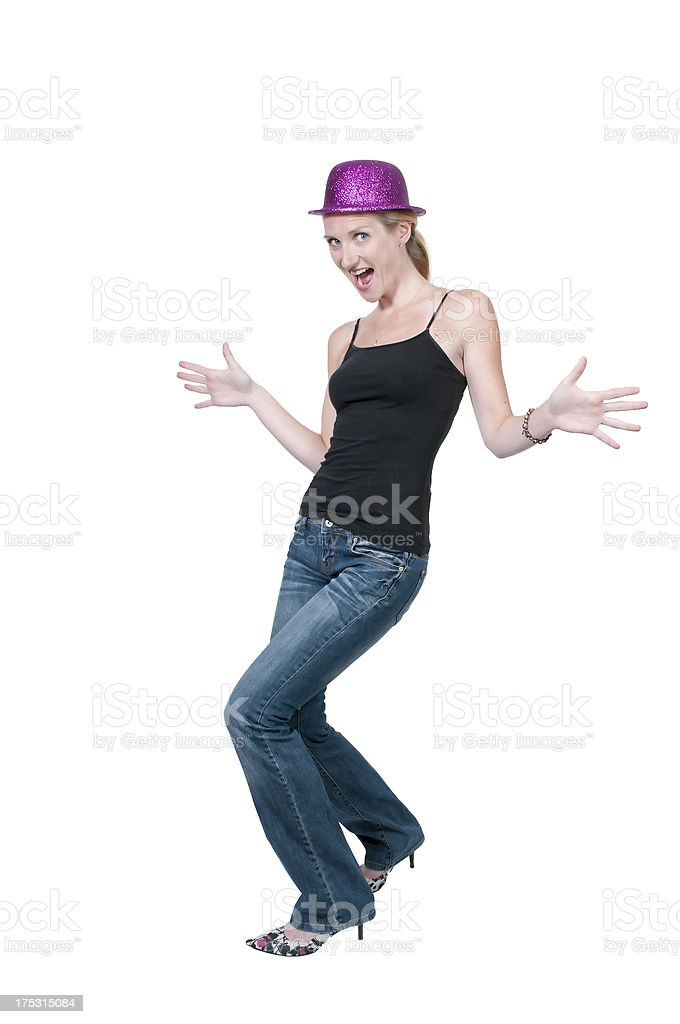 Caberet Woman stock photo