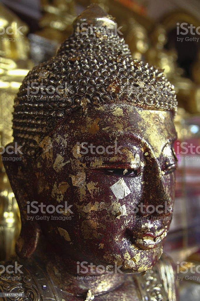 Cabeza Buda stock photo