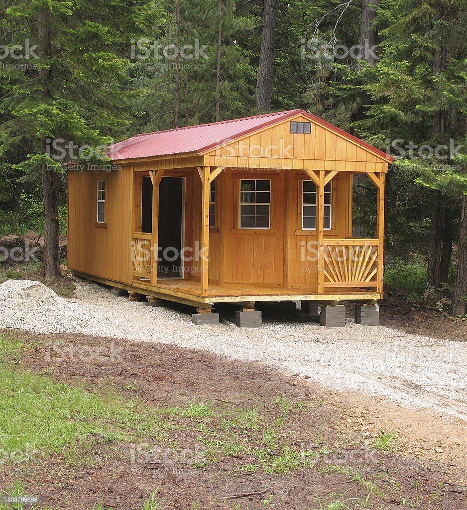 Cabin 2 stock photo