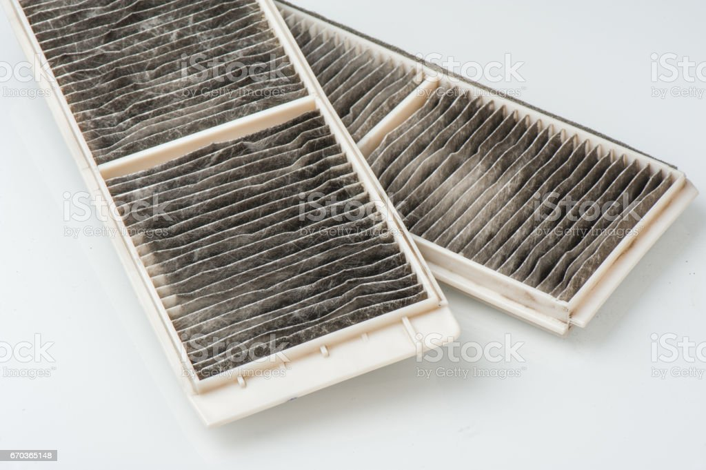 cabin air filter stock photo