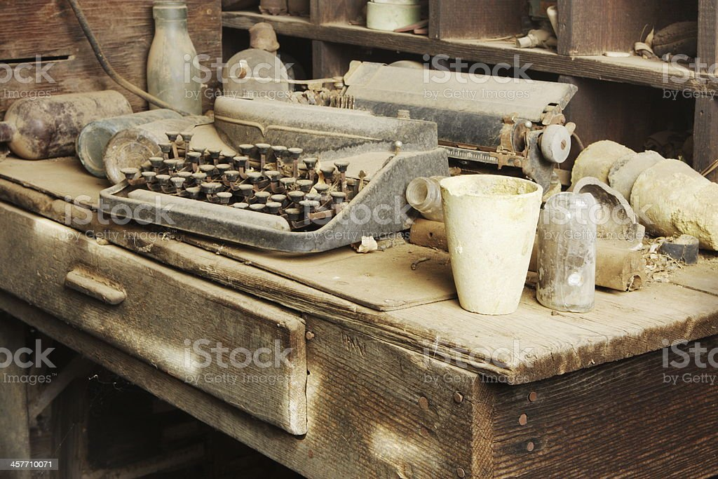 Cabin Clutter Junk Furnishing stock photo