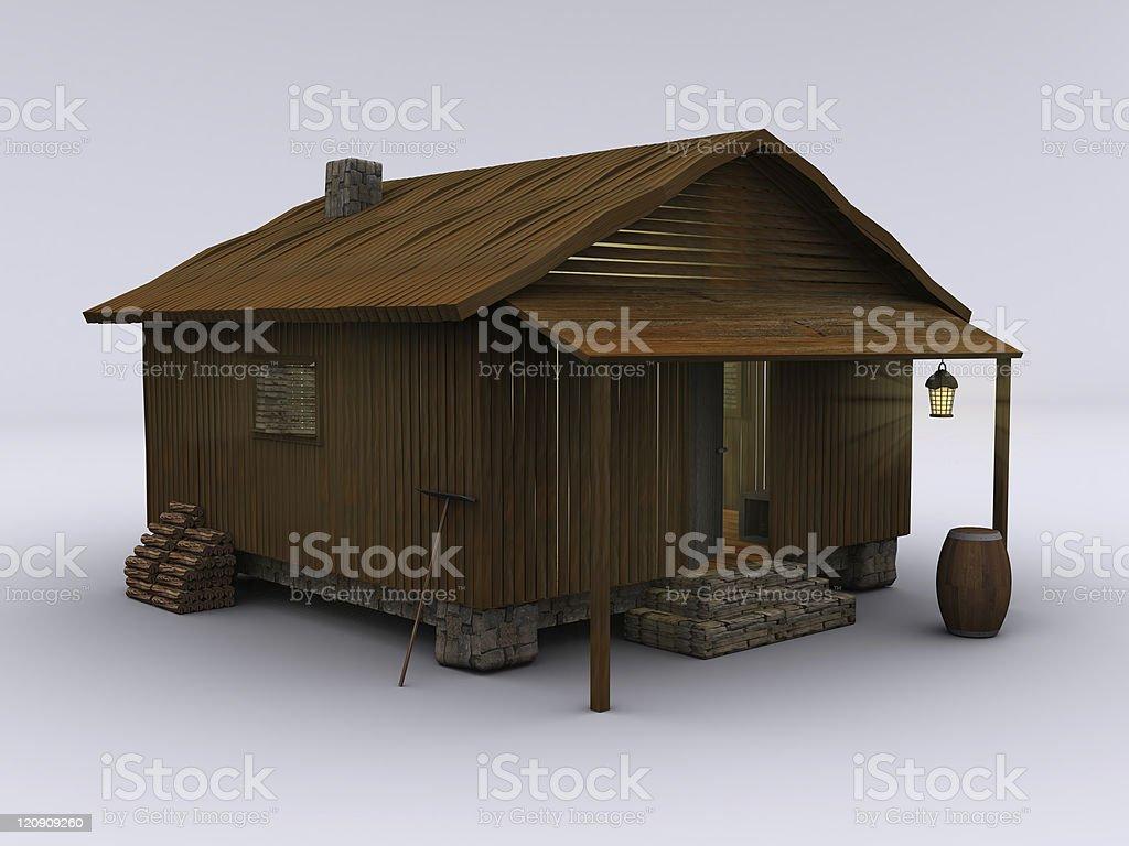 Cabin cozy II royalty-free stock photo