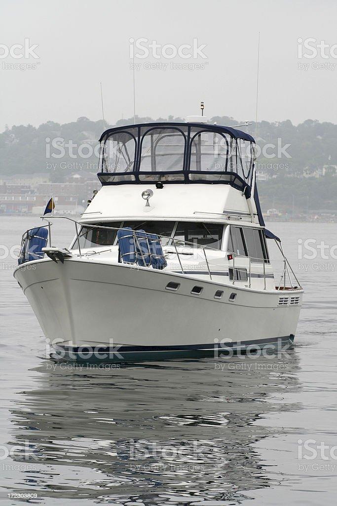 Cabin Cruiser royalty-free stock photo