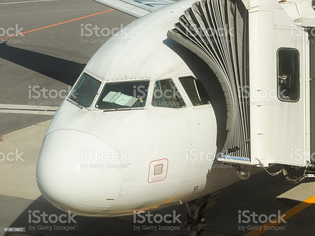Cabin of air plane royalty-free stock photo