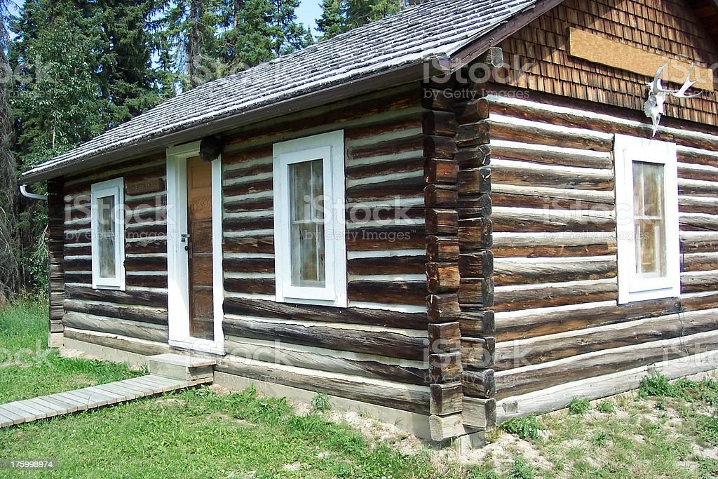 Cabin royalty-free stock photo