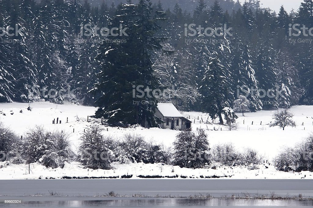 cabin royalty-free stock photo