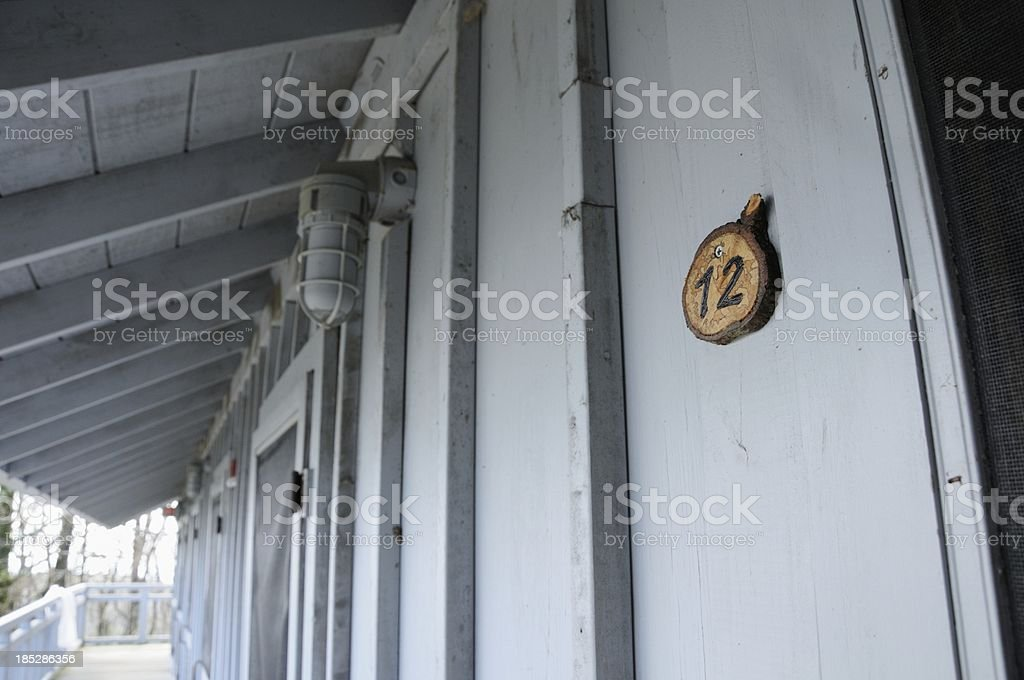 Cabin rooms royalty-free stock photo