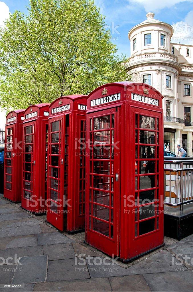 Cabina telefonica stock photo
