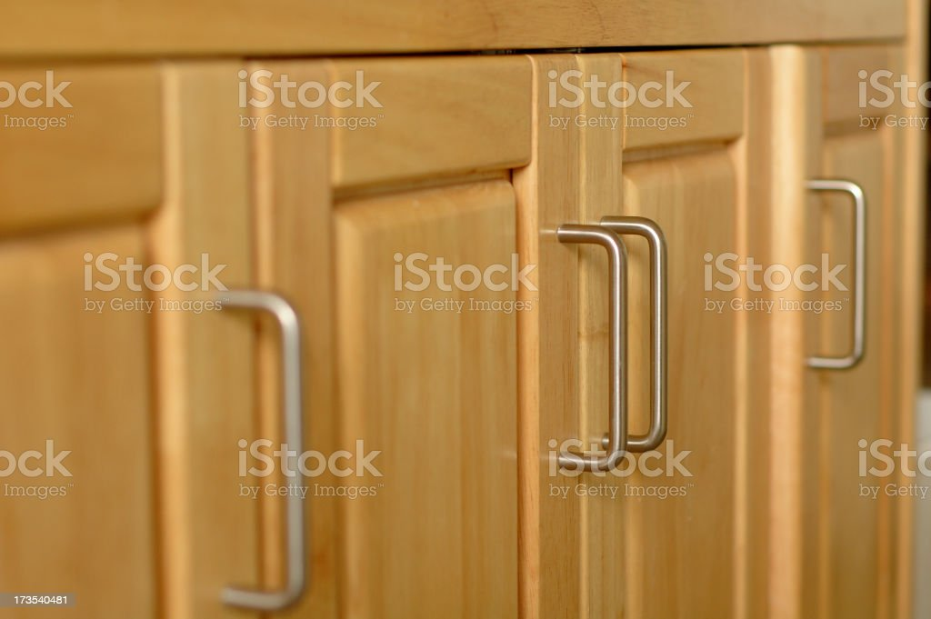 Cabinet Doors royalty-free stock photo