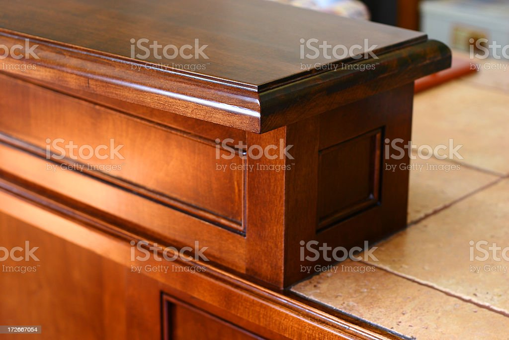 Cabinet Maker - Finished Project 01 stock photo