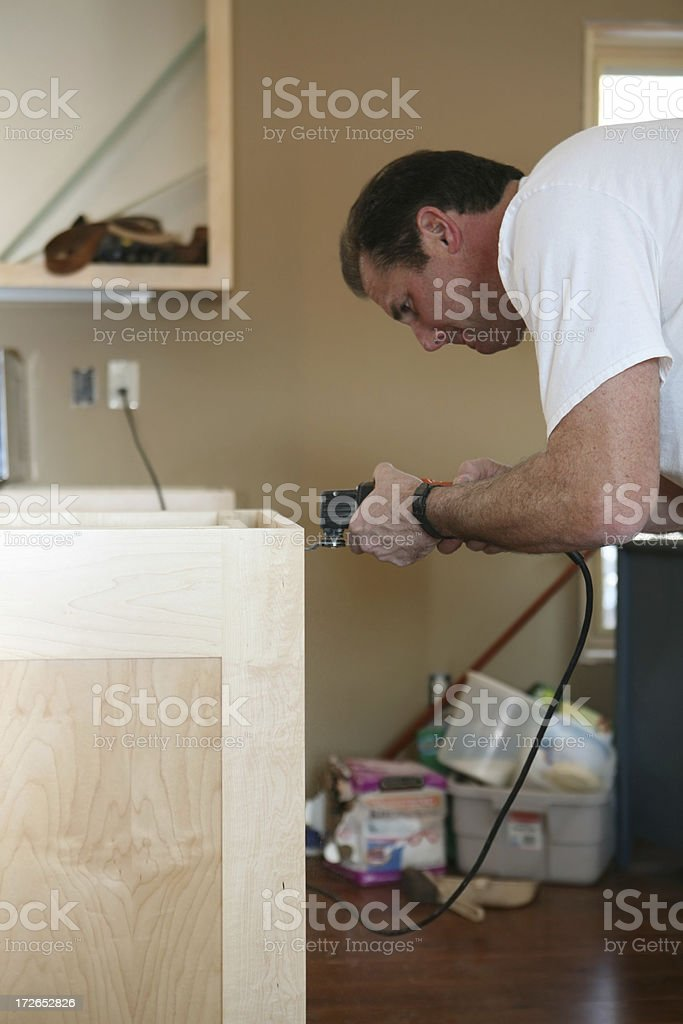 Cabinet Maker royalty-free stock photo