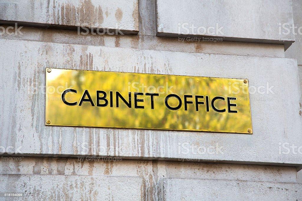 Cabinet Office, London stock photo