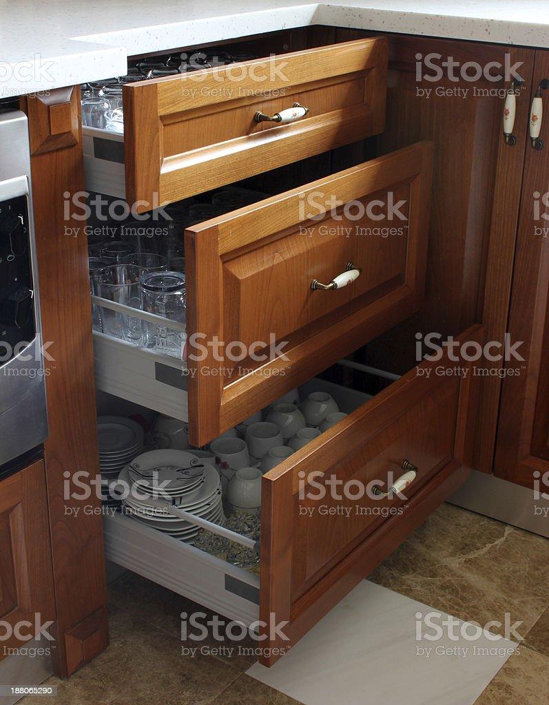 Cabinet stock photo
