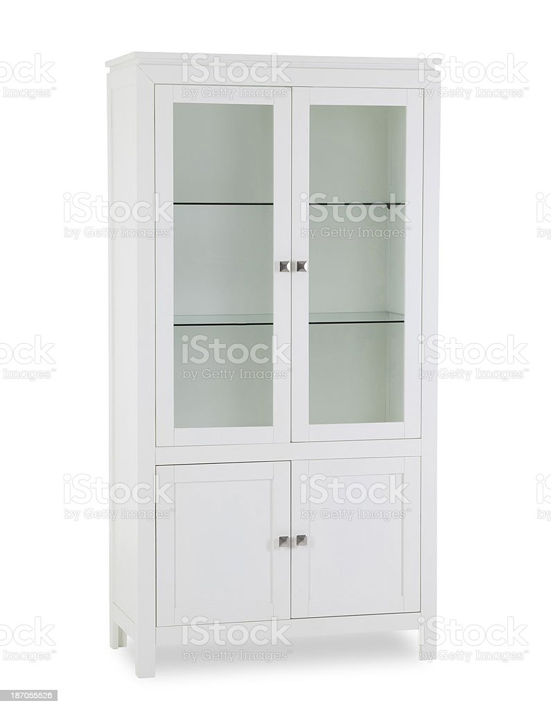 Vitrine cabinet royalty-free stock photo