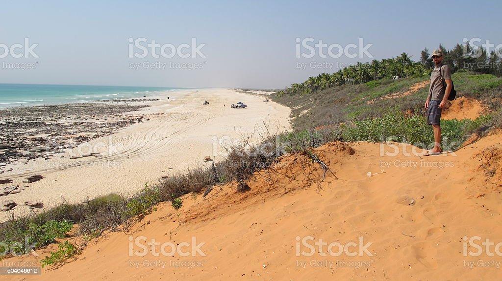 Cable Beach, Broome, Western Australia stock photo