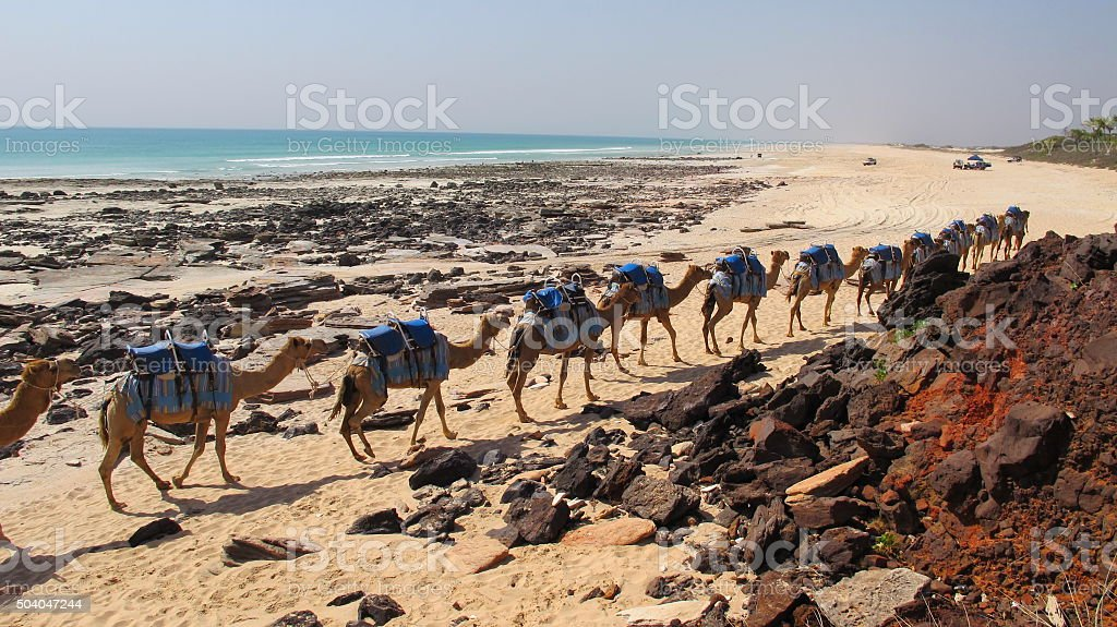 Cable Beach, Broome, Western Australia stock photo