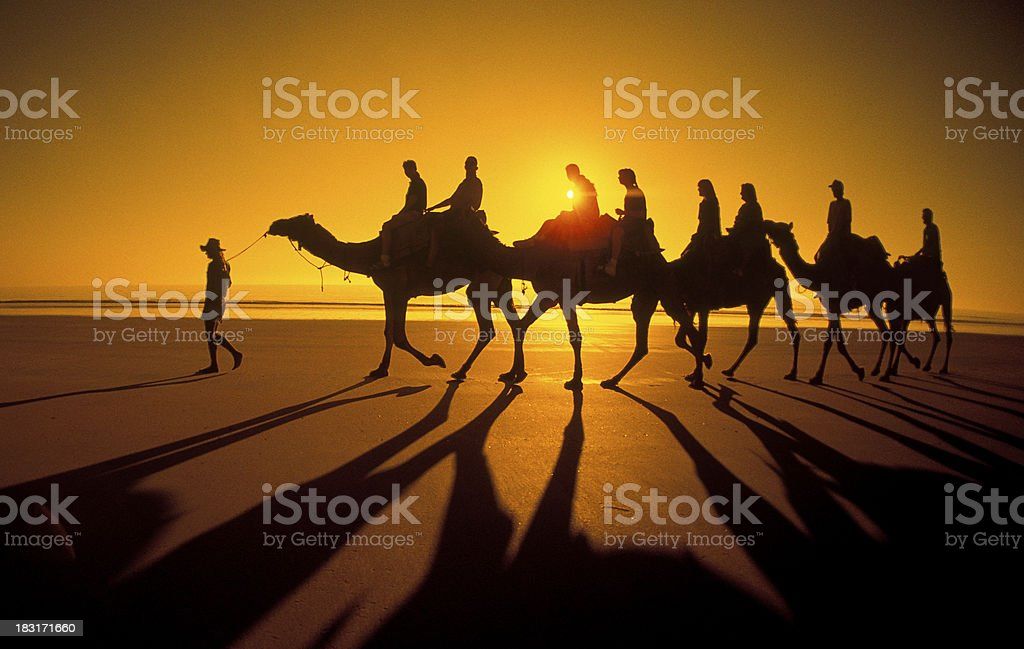 Cable beach, Western Australia. royalty-free stock photo