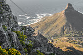 Cable Car in Table Mountain in Cape Town South Africa