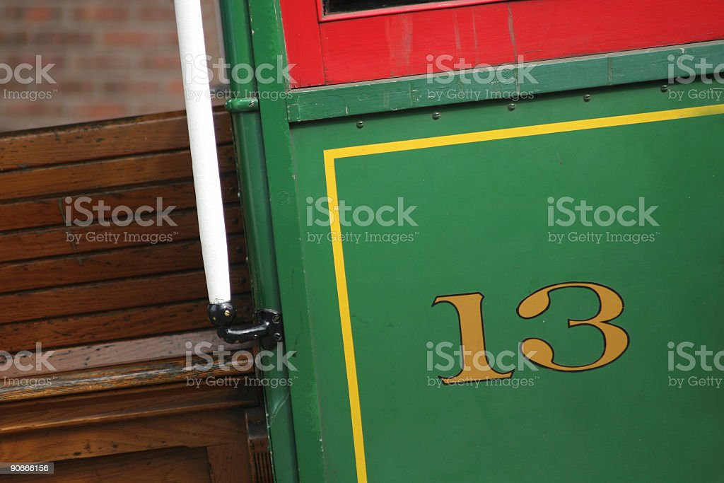 SF cable car royalty-free stock photo