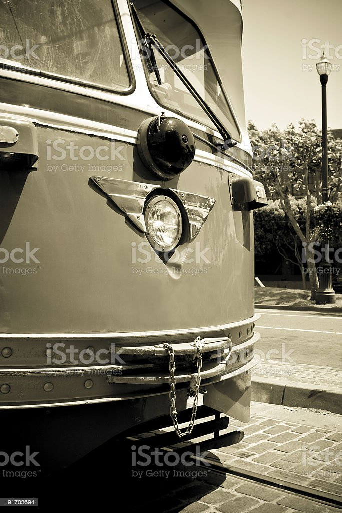 Cable Car royalty-free stock photo