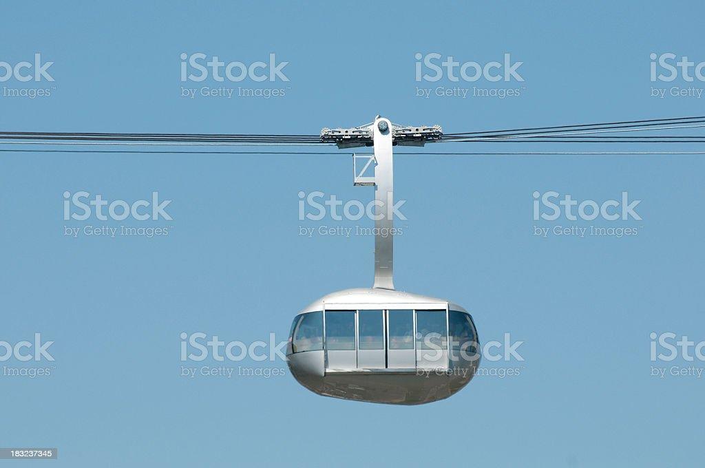 cable car, Portland Aerial Tram, Oregon royalty-free stock photo