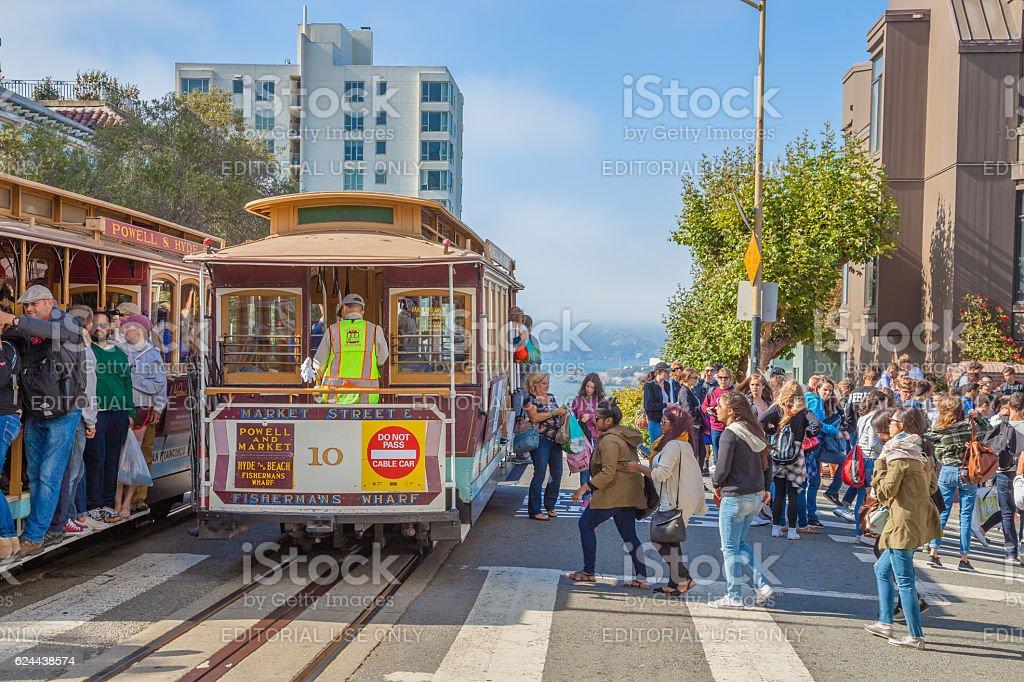 Cable Car San Francisco stock photo