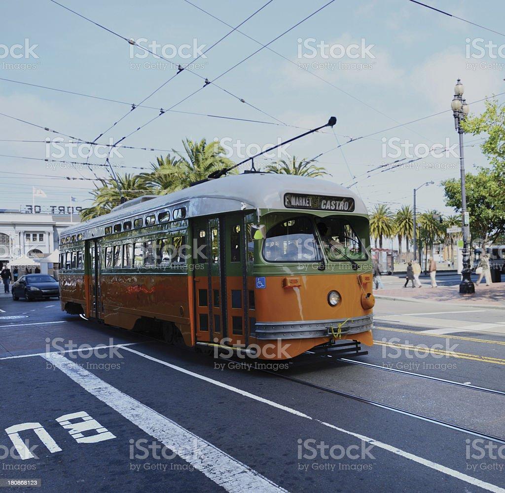 Cable Car,San Francisco royalty-free stock photo