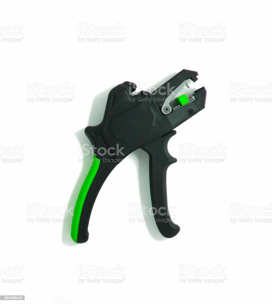 Cable cutter. stock photo