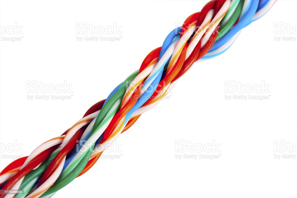 cable internet stock photo