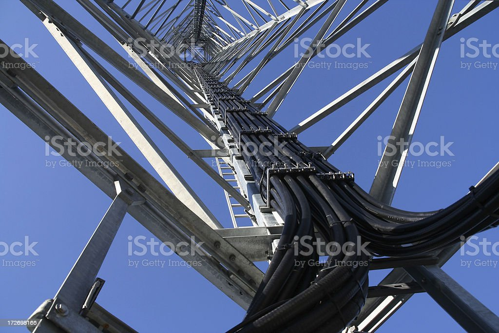 Cable Loom stock photo