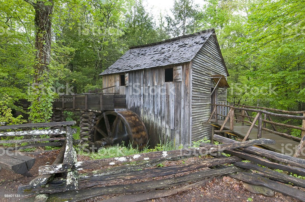 Cable Mill, cades cove, Smoky Mountains royalty-free stock photo