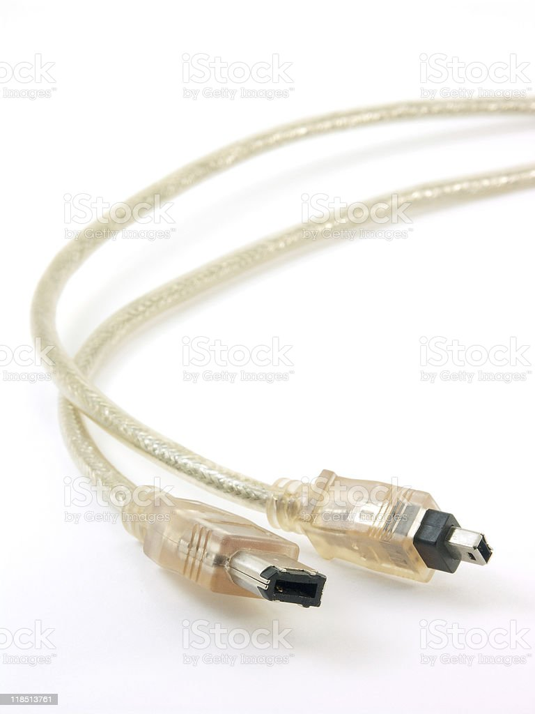 DV cable stock photo
