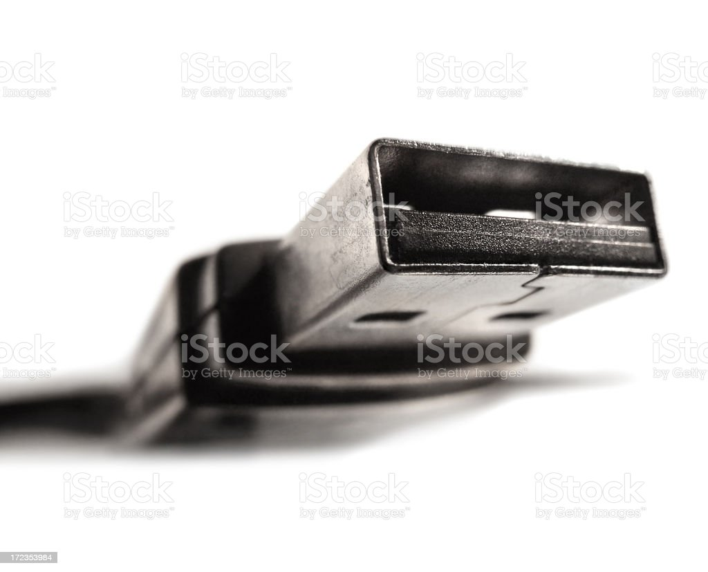 USB Cable royalty-free stock photo