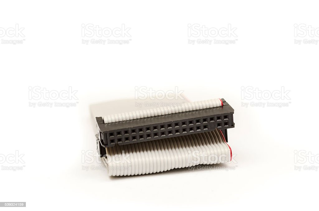 IDE Cable stock photo