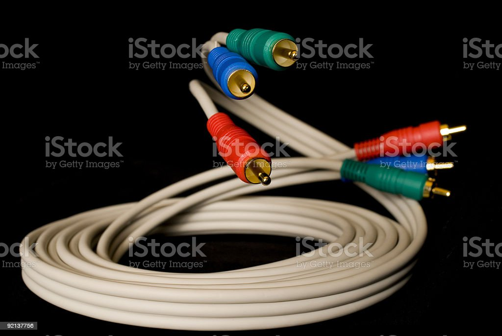 TV Cable royalty-free stock photo