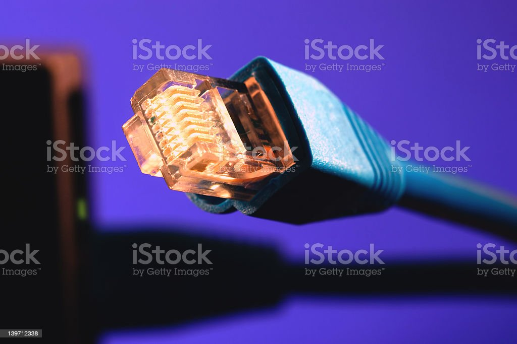 cable RJ-45 royalty-free stock photo