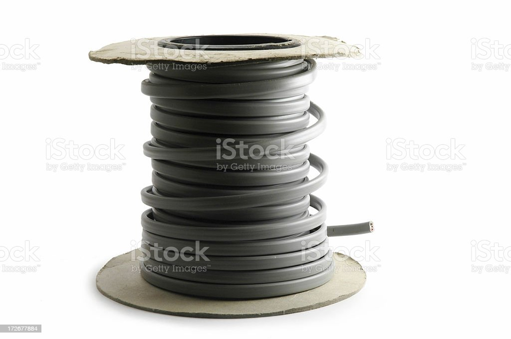 Cable Roll stock photo
